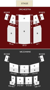 36 Prototypical Canon Theatre Seating Chart