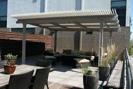 free standing aluminum patio cover. Free Standing Patio Covers Aluminum Outdoor Living Comfortable Taupe . Cover