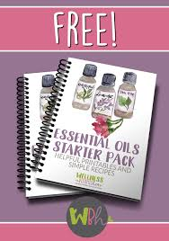 Essential Oils Chart Printable Free Essential Oils Starter Pack Thrifty Homeschoolers