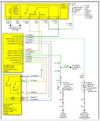 isuzu rodeo ls rear wiper fuse box to wiper motor including switch wiring diagram
