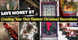 diy outdoor christmas light ideas. creating your own christmas outdoor decoration diy light ideas