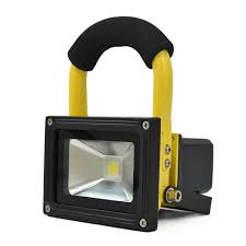 10 Watt Rechargeable Led Work Light Rechargeable Led Floodlight 4 Hour Runtime