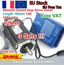 eBay #Sponsored 3x <b>NEMA34</b> 12N.M Closed Loop Stepper/Servo ...