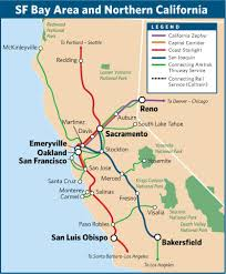 travel by train in the san francisco bay area and northern Northern Train Line Map take amtrak trains to the california bay area and other destinations in northern california northern train line map