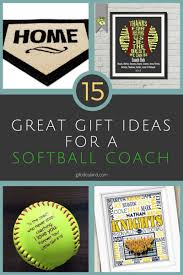 15 best gifts for a softball coach