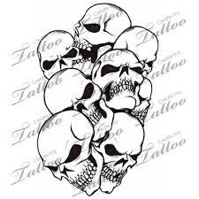 Tattoo Patterns Of Skulls