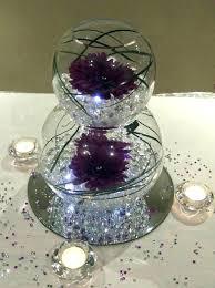 glass bowl decoration ideas glass centerpiece