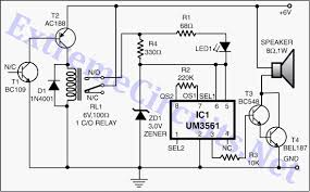 electronic circuits Heat Detector Wiring Diagram circuit diagram automatic heat detector circuit diagram t300 heat detector wiring diagram