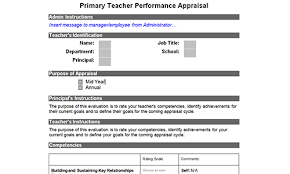employee appraisal software free download free teacher evaluation form samples download toolkit