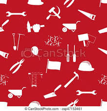 labor day theme international worker day or labor day theme icons seamless pattern