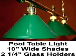 lamp billiard table glass shade pale green lamp shades