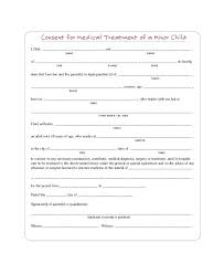 Child Medical Consent Form For Grandparents Child Medical Release Template Parental Release Form Example Child