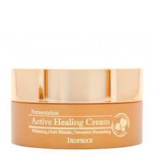 <b>Крем для лица</b> Deoproce Fermentation <b>Active</b> Healing Cream ...