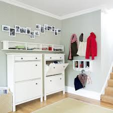 image of ikea wall storage shoes
