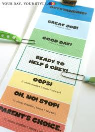 Printable Behavior Clip Charts For Home Best Picture Of