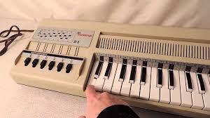 bontempi b organ made in italy  youtube