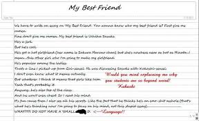 description of a best friend essay short essay on my best friend preservearticles com