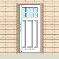 entry door size standard front door size how to measure your front entry door