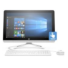 HP 22-b013w Snow White All-in-One PC with 21.5\