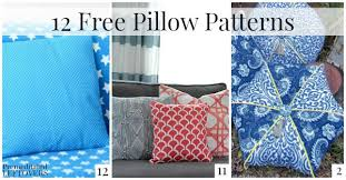Pillow Patterns Stunning 48 Free Pillow Patterns
