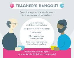 mindful living mindful living teachers hangout feature meet the teachers