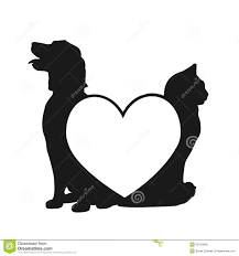cats and dogs in love drawing. Plain Cats Cat Love Drawing And Dog Intended Cats Dogs In O