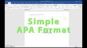 Apa Setup Apa Header Title Page And References Setup In Word 2016 Youtube