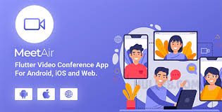 MeetAir v1.0.4 - iOS and Android Video Conference App for Live Class, Meeting, Webinar, Online Training - nulled