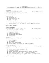 Exercise Science Resume Examples Simple Exercise Physiology Resume Sample For Science Examples