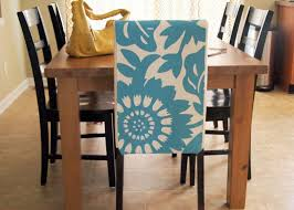 dining room chair covers pattern. lovable your dining room furniture with white based blue floral pattern of chic slipcover for parson chair covers n