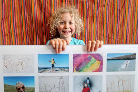 turn kids art into wall art and more