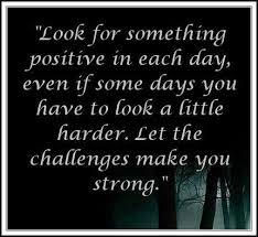 Money Tells Stories LET THESE CHALLENGES MAKE YOU STRONGER BETTER Classy Challenges Make Us Strong