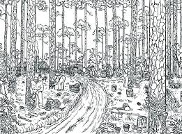 logging coloring pages rainforest coloring page coloring page trees logging coloring page