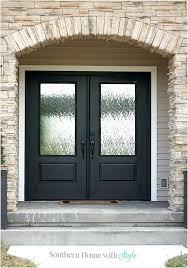 black double front doors. Simple Black Black Double Front Doors Interior Door Designs Wooden  To O