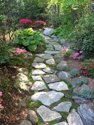 garden paths and stepping stones. stepping stone walkway garden path traditional-garden paths and stones s