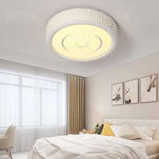 Simple Ceiling Light Ps6221 Modern Simple Round Hollow Acrylic Led Ceiling Light
