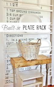 diy plate rack built in plate rack diy plate rack target