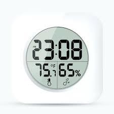 bathroom digital clock waterproof shower clock large display wall suction cups kitchen temperature humidity sensor digital bathroom digital clock