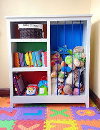 diy childrens bedroom furniture. DIY Colorful Stuffed Animal Zoo And Bookshelf For Kids Storage Diy Childrens Bedroom Furniture