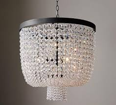 beaded crystal traditional chandelier