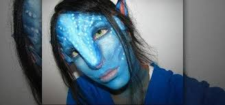 how to create an avatar navi makeup look for makeup wonderhowto