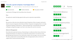 as you can see below a single review contains a good deal of information about an employee s experience
