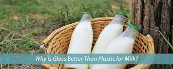 Milk Being Supplied In Tetra Pack And Through Vending Machines Interesting Glass Vs Plastic Bottles For Milk What's The Best Packaging