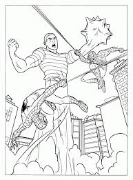 Get your favorite free printable coloring pages featuring spiderman in action. Spiderman Coloring Pages Printable Coloring Pages