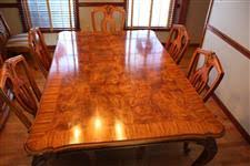 henredon palagio dining room table with 8 chairs