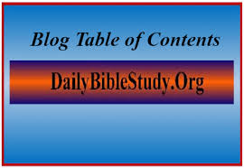 Table Of Contents Chart Table Of Contents Charts Daily Bible Study Blog