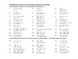 Lovely Algebra 2 Worksheets And Answer Key Photos - Printable Math ...