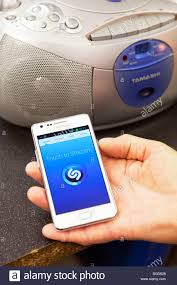 Shazam Stock Chart Shazam App Application Running Working On Samsung S2