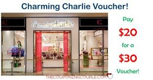 charming charlie pay 30 charming charlie voucher for only 20