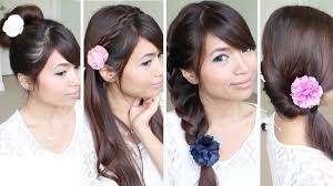 Hair Style For Medium Hair quick & easy backtoschool hairstyles for medium long hair 2618 by wearticles.com